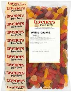 Taveners Wine Gums 3 Kg £11.94 + £4.49 delivery NP @ Amazon