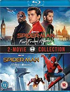 Spider-Man: Far From Home & Spider-Man : Homecoming [Blu-ray] [2019] [Region Free] £16 @ Amazon Prime (+£1.99 non Prime)