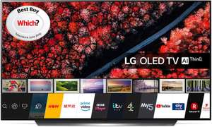 LG Electronics OLED55B9PLA 55-Inch UHD 4K HDR Smart OLED TV with Freeview Play at Amazon for £1099