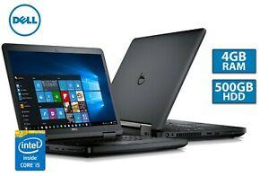 Refurb Dell E5450 14.1'' i5-5200U 4GB 500GB Win 10 Laptop - Grade C £84.99 / 15.6'' Dell E5540 Laptop £88.39 with code @ Stockmustgo ebay