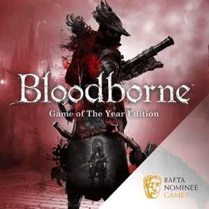 [PS4] Bloodborne: Game of the Year Edition - £12.99 @ PlayStation Store