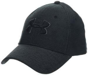 Under Armour Men's Heathered Blitzing 3.0 Cap, £5 at Amazon Medium Black only (Add-on item)