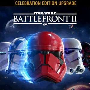 Battlefront 2 Star Wars Celebration Edition upgrade on PS4 / XBox One £13.99 (PS Store and Xbox Store)