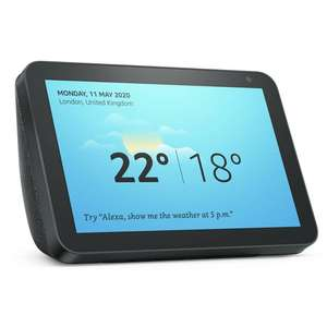 Echo Show 8 back in stock at Argos £59.99
