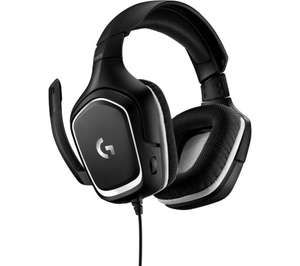LOGITECH G332 SE Gaming Headset - Black - £19.99 delivered with code @ Currys PC World