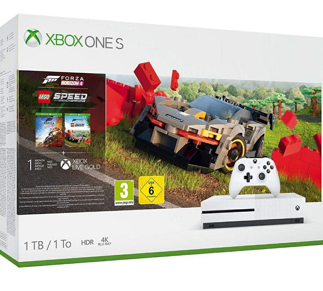 Xbox One S 1TB Console - Forza Horizon 4 Lego Speed Champions Bundle £159.99 @ Amazon