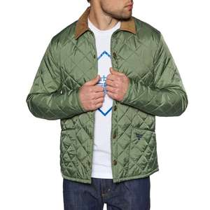 Barbour Beacon Mens Starling Jacket in Moss (Size XS, S) £53.95 Delivered @ Surfdome