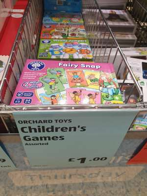 Orchard Games instore at Aldi £1