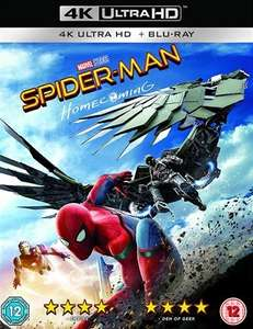 Spider-man Homecoming (4K Ultra HD + Blu-ray) [Pre-owned] - £6 In-store / £7.50 Delivered @ CeX