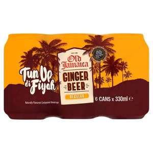 Old Jamaica Ginger Beer 6 x 330ml for £2.00 @ Morrisons