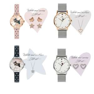Radley Watch & Earring / Necklace Sets £67.50 Using code - Free Next Day Delivery & Extended Christmas Returns @ Watchsop