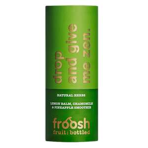 Froosh Plus drink 250ml 19p Home Bargains