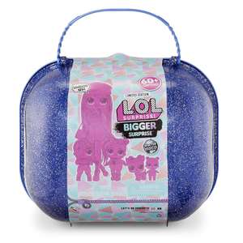 L.O.L. Surprise! Bigger Surprise Winter Disco with Exclusive O.M.G. Doll - £47.99 @ Amazon