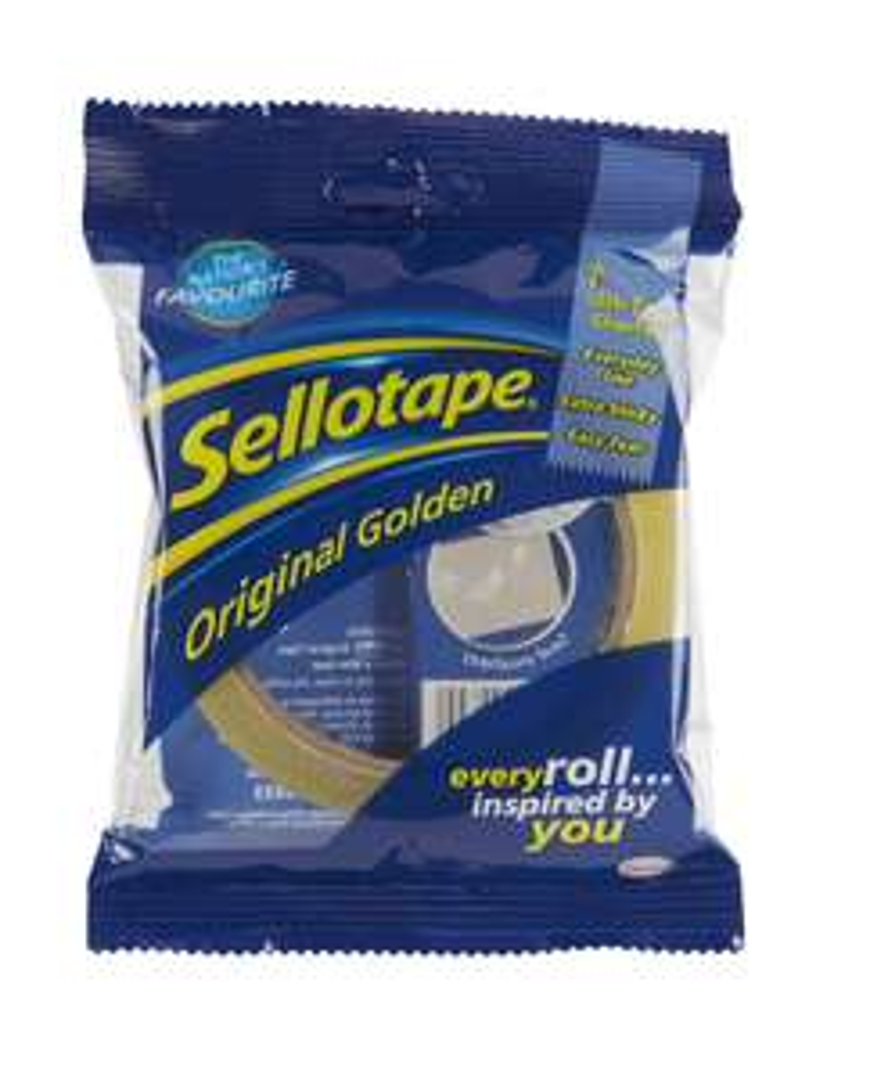 Sellotape Original Golden Sticky Tape £1 add-on item @ Amazon