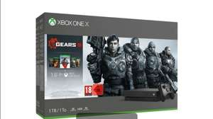 Xbox One X 1TB GOW 5 Bundle - GOW 5; GOW Ultimate Edition; GOW 2, 3, 4; 1-month Xbox Pass & Xbox Live - Wireless Controller £279.99 @ Game