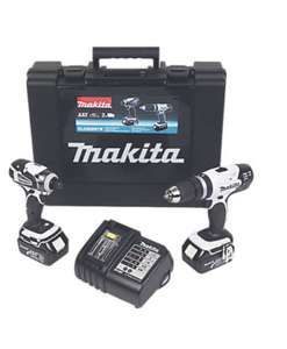 Makita DLX2020SW 18V 3.0AH LI-ION LXT Cordless Combi Drill & Impact Driver Twin Pack - £189.99 delivered @ Screwfix