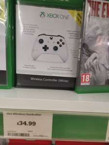 Xbox One Wireless Controller - £34.99 @ Sainsbury's (instore - Salisbury)