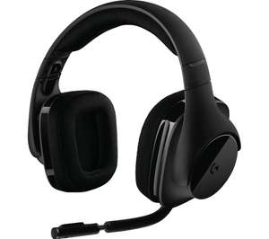 LOGITECH G533 Wireless 7.1 Gaming Headset - Black for £53.59 using code @ Currys PC World