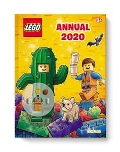 LEGO Official 2020 annuals (Iconics & Harry Potter) for £2.99 each delivered (using code) @ Books2Door