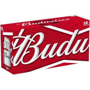 Budweiser 18x440ml Can pack - £9 @ Morrisons (In store)