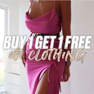 Buy One Get One Free on Clothing with code @ Public Desire * Glitch * It's giving you the most expensive item FREE