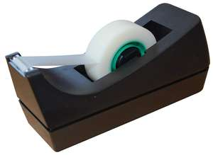 5 Star Mini Tape Dispenser For Rolls Up To 33mx19mm Black - £1.75 @ Amazon (add on item)