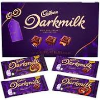 Cadbury Darkmilk selection box 340g (4x85g) - £1.99 instore @ Home Bargains