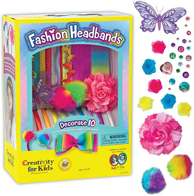 Creativity for Kids F901819 West Design Junior Selection Fashion Headbands Large Kit, Multi-Color £6.68 + £4.49 NP @ Amazon
