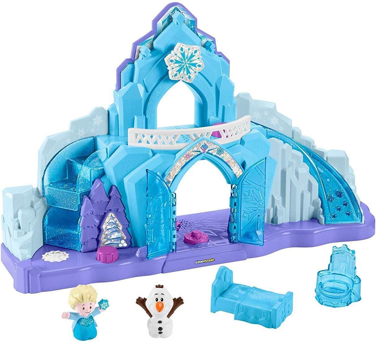 Little People GGV29 Fisher-Price Disney Frozen Elsa's Ice Palace, Musical Light-Up Playset, Multi-Colour £22.38 @ Amazon
