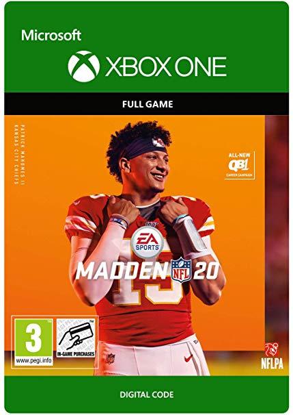 Madden NFL 20: Standard Edition - [Xbox One Digital Code] £30.00 @ Amazon
