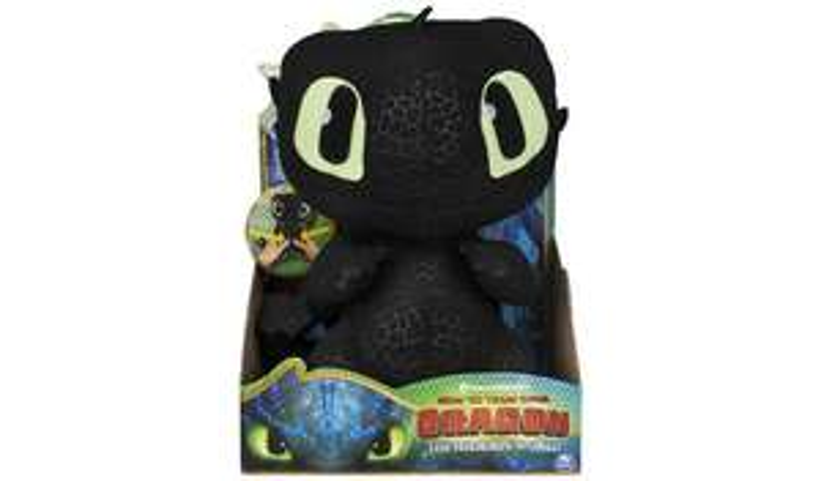 Amazon, Squeeze and Growl Toothless Plush £9.91 + £4.49 NP @ Amazon