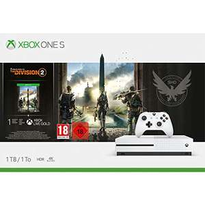 Xbox One S 1TB + The Division 2 £147 (£142 with Fee Free Card) @ Amazon France