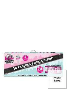 L.O.L Surprise! Amazing Surprise - £71.99 @ Very (Free Collection)