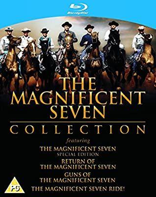 The Magnificent seven 4 movie collection blu ray £11.35 @ Amazon prime (£2.99 p&p non prime) 4%tcb