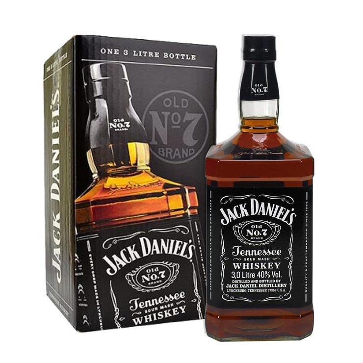 Jack Daniel's 3L Old No.7 Tennessee Whiskey JEROBOAM - £77.89 @ Costco