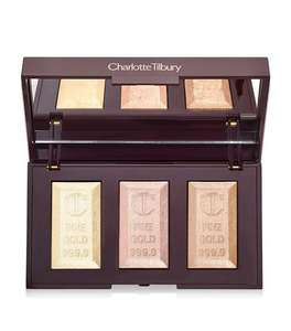 Charlotte Tilbury Bar of Gold Highlighter Palette Half Price Sale 50% off now £24.50 @ Harrods (Free Click & Collect / £5.95 postage)
