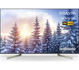 """Sony KD65XF9005BU 65"""" Smart 4K Ultra HD Android TV with HDR10, Triluminos Display, X1 Extreme Processor and Google Assistant £899.10 @ AO"""