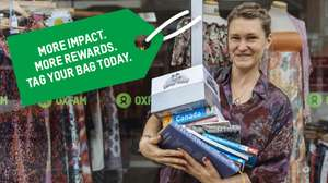 Oxfam/Nectar: Sign up to Oxfam 'Tag Your Bag' and get 100 Nectar points @ Oxfam