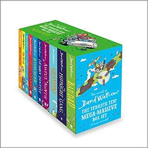 10 Book Collection (The Terrific Ten) by David Walliams £28.99 Delivered @ Amazon