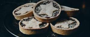 Buy one mince pie get one free with voucher code @ Caffe Nero App