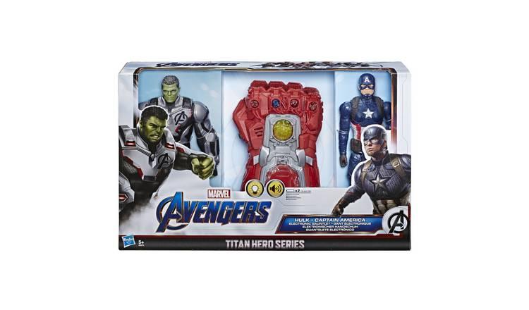 Marvel Avengers Endgame Titan Hero Series Hulk, Captain America And Gauntlet £25 Was £50 Half Price @ Argos