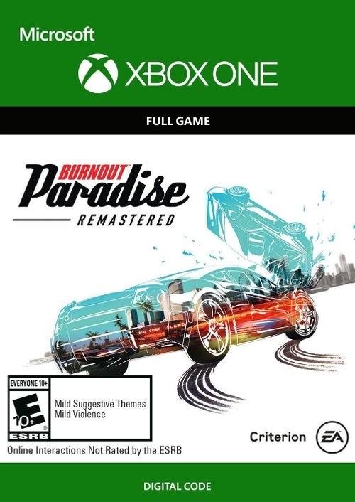 Burnout Paradise Remastered Xbox One £4.99 @ CDKeys