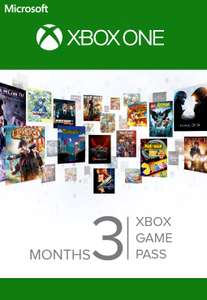 [Xbox One] - 3 Months Xbox Game Pass - £6.99 @ CDKeys (Can also be stacked & used to extend Ultimate Game Pass Subscription)