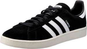Adidas Campus Trainers - Black/White - Sizes 8.5 and 9.5 - £35 at Amazon