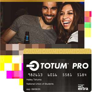 TOTUM Pro Student Card - 3 Year Membership - £29.49 Delivered