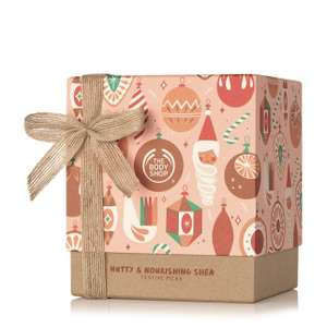 2 X Nutty & Nourishing Shea Festive Gift Set £30 delivered with code @ The Body Shop