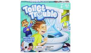 Toilet trouble from Hasbro Games £8 @ Argos Free click and collect