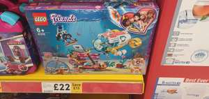 LEGO Friends 41378 Dolphins Rescue Mission with Boat Submarine £22 @ Tesco