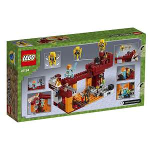 Lego 21154 Minecraft the Blaze Bridge £28.70 @ Amazon