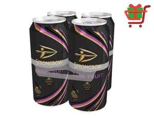Strongbow dark fruit 4pk £5.19 @ One Stop (Possibly free after cashback)